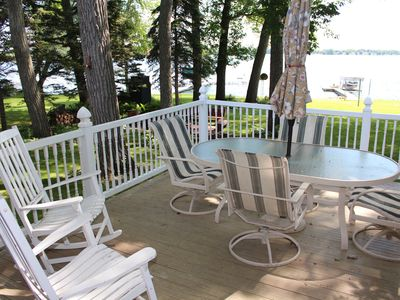 Photo for Stunning Home on Little Green Lake for Family Fun!
