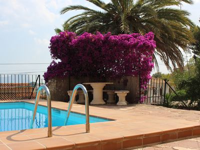 Photo for Enjoy beautiful sea views in the house in the Casa de Campo style