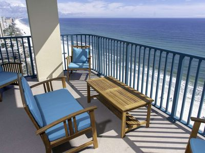 Photo for Amazing Views! 17th Floor Condo. Newly Remodeled & New Furnishings. Age Requirement 25 & up.