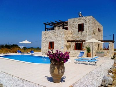 Photo for Stone Built Detached Air-Conditioned Villa With Private Pool & 1/2 Acre Of Land