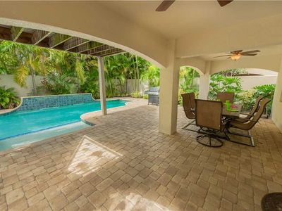 Photo for Luxury home close to the beach! Stay this fall and save big at Villa Portofino!