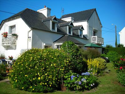 Photo for Charming family house in Carantec in Morlaix Bay