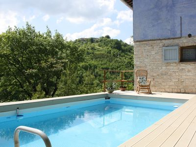 Photo for Really nice small villa ner to the Frassassi Caves