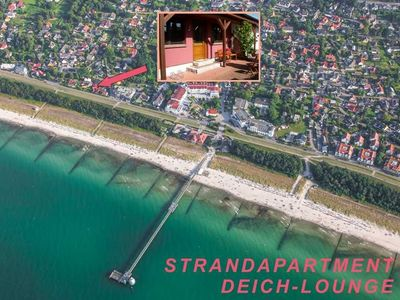 Photo for BEACH APARTMENT DEICH-LOUNGE ZINGST - only 50m to the sea - Strandapartment Deich-Lounge
