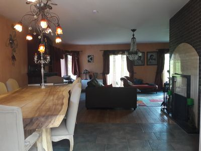 Photo for 3 *** Holiday Diane, near the river, Drongen / Ghent, quiet area, fenced garden
