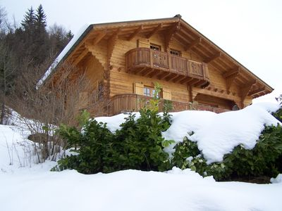 Photo for mounting in a chalet accommodation