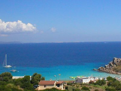Photo for Sardinia: S. ta teresa gallura apartment 6 pax beautiful center apt sea view