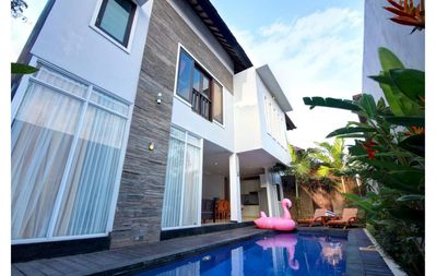 Photo for 2 BR Fantastic Private Pool Villa+Breakfast Close to Jimbaran Beach
