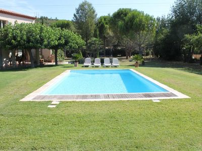 Photo for Aix En Provence - Quiet house with pool