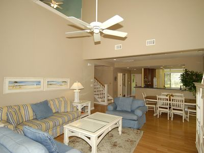 Photo for 3 bedroom, 3 bath, end-unit townhouse in the Inverness Village section of Palmet