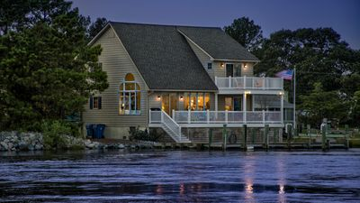 Photo for 4 BR 2.5 BA Water Front Retreat with Amazing Views and Ready For Family fun!