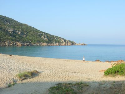Photo for Apartment ideally located facing the sea, on the beach of Tizzano in Southern Corsica