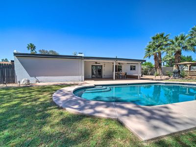 Photo for NEW! Phoenix House w/ Pool, Patio, Gazebo & Grill!