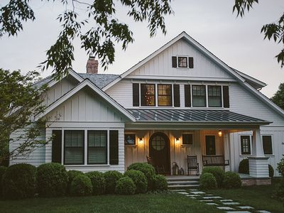 Photo for Custom 5BR/5.5BA Home, Centrally located in East Hampton Village, Tesla Charging