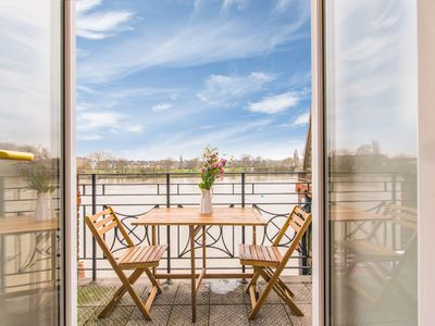 Photo for River View, Penthouse Apartment, Zone 2, Hammersmith, London, 2 Bedrooms  2 Bath