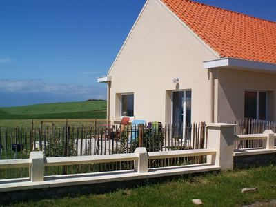 Photo for Fantastic renovated house on the Opal Coast cliffs
