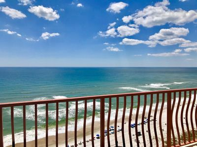 Photo for Stunning Gulf Front Condo w/ Complex Pool & Balcony Overlooking Gulf of Mexico