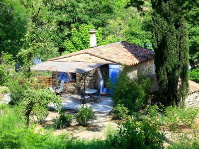 Photo for Mazette, cozy little house for 2 people in Provence, 4 stars