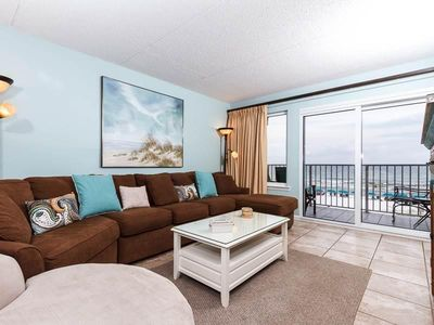 """Photo for """"Island Echos 3H"""" 2 Bedroom/ 2 Bath! Up Graded Gulf Front Unit!!"""