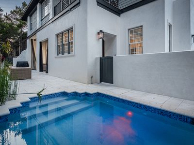 Photo for Private Pool! 7 Adult Bikes! Prime Rosemary Beach Location! Carriage House!