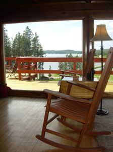 View from Large windows in Living Room ~Philipsburg Bay