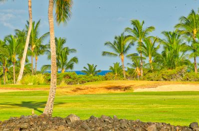 Private fairway location -  views from the lanai