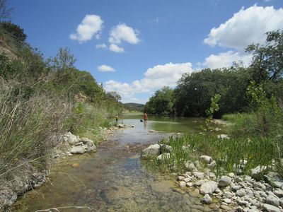 Swimming holes and places to wade and fish