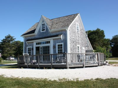 Photo for Charming Seaside Cottage with Private Access to Oyster River