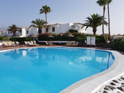 Photo for NEW Golf del Sur Royal Tenerife Country Club (3 bed Villa, sleeps 6)