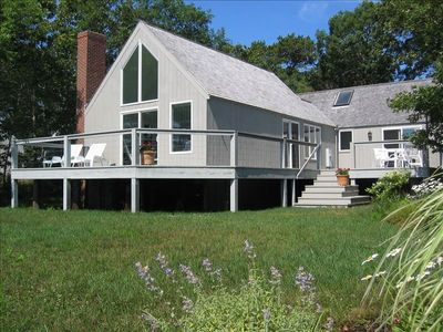 Photo for Ocean View Cottage, Private Waterfront , Adjacent to Farm Neck