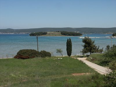 Photo for Studio flat with terrace and sea view Mrljane (Pašman)