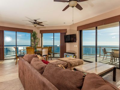 Photo for End Unit Hanging Over the Ocean with Two Master Suites Both with Great Views