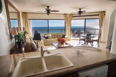 Ocean View from the Kitchen and Great Room