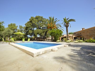 Photo for Majorcan country house with pool and near the beach Internet