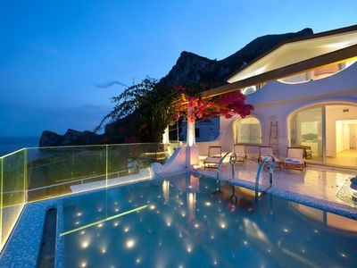Photo for Luxury Villa- garden view-private swimming pool-air conditioning-jacuzzi