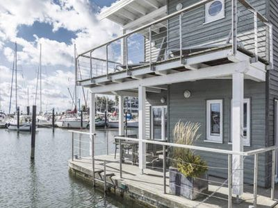 Photo for Floating holiday home (large) - in-jaich Wasserferienwelt Lauterbach