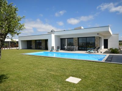 Photo for Modern Villa in Alcobaça with Private, heated Swimming Pool