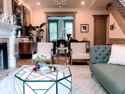 Photo for Charming Brownstone with Luxury Finishes!