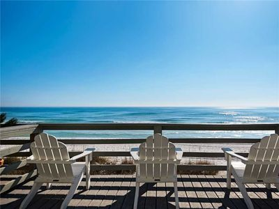Gulf Front-Free Parasailing-Two Sets of Beach Service-End Unit with Sunset Views