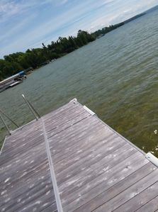 Photo for North Lake Leelanau, wifi and paddle boat, crystal clear sand bottom waterfront