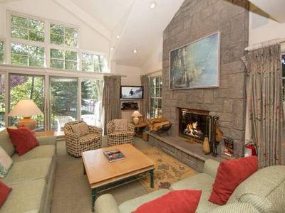 Photo for Texas Townhouse - PRIVATE HOT TUB, Vail Village, On Gore Creek