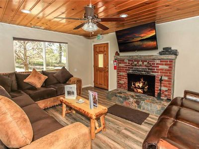Photo for Reeves Cabin - WiFi! Walking distance to the Village and Lake. FREE 2 hour Bike/Kayak Rental!