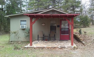 Photo for 1BR Cottage Vacation Rental in New Blaine, Arkansas
