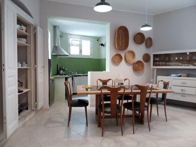 Photo for Modica old town, stylish large apartment in central location