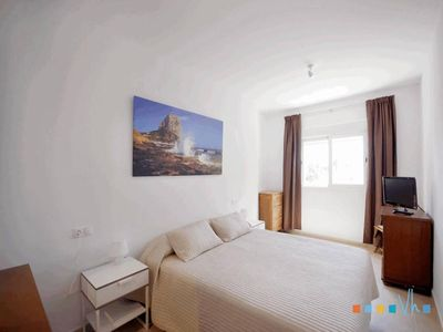 Photo for AZORIN - Central apartment on the beach of Calpe for 6 people