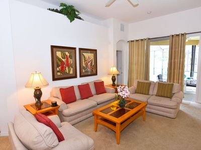 Photo for RELAXING 6BD Pool HM w/ Game RM in CALABAY RESORT AT TOWER LK, 30 Min To Disney, 20 Min to Legoland