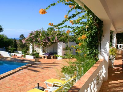 Photo for Luxury villa  with Private Pool,  Sea Views in  traditional Portuguese style