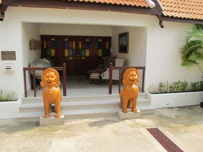 Photo for 3 Bedroom Bungalow with private swimming pool and gym