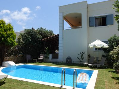 Photo for Modern Villa Maria ,  3 bedrooms , private pool & near the sea