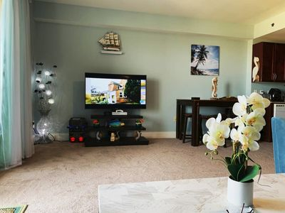 Photo for Family-Kids friendly Luxury condo with Beachchairs and Games in PCB